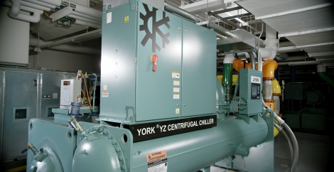 20180921 York YZ chiller installed