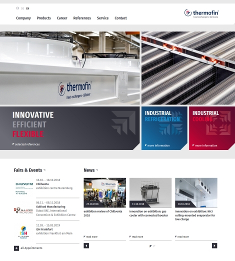 20181105 Thermofin website en